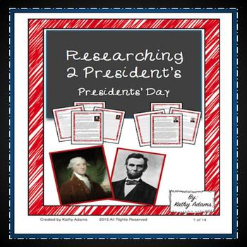 Informative Writing and Research Presidents' Day