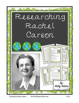Research Earth Day and Rachel Carson
