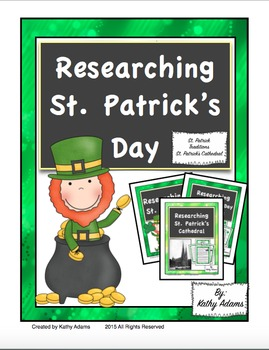 Informative Writing and Research St. Patrick's Day