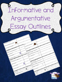 Informative and Argumentative Essay Outlines/Frames