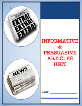 News Articles Unit