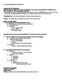 Informative speech outline example