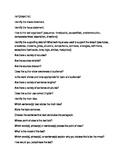 Informative text questions
