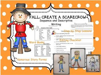 FALL: Informative/Descriptive Writing: Make a Scarecrow
