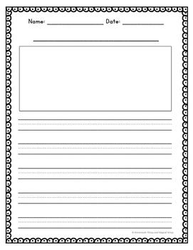 Informative/Explanatory Writing Template {First Grade}