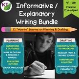 Expository Informative Explanatory Writing Bundle