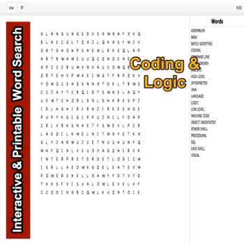 Infrastructure Technician Interactive Word Search Module 4