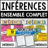 Inférences (ensemble complet: 3 produits combinés)     -    French inferences