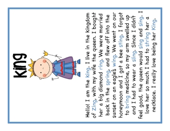 Ing' Word Family Mini-Pack... by First Grade Fanatics   Teachers ...