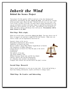 Inherit the Wind Project
