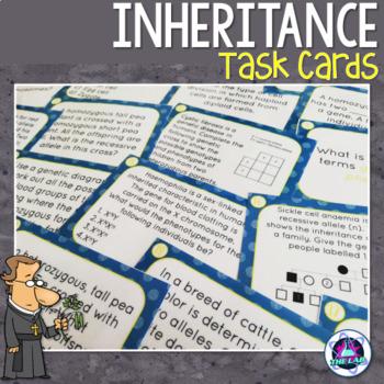 Inheritance & Genetics Task Cards