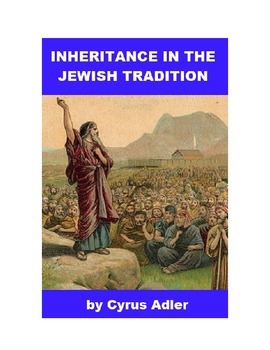 Inheritance in the Jewish Tradition
