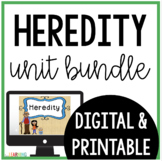 Inherited Traits and Learned Behaviors Unit: Printable and