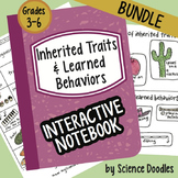 Science Doodle - Inherited Traits & Learned Behaviors INB BUNDLE Notes