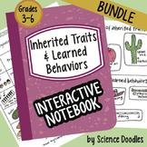 Science Doodle - Inherited Traits & Learned Behaviors INB BUNDLE Notes