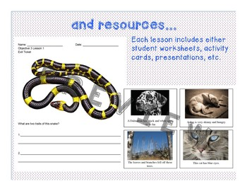 Inherited Traits - NGSS Lesson Plans/Activities for 3.LS3.1, 3.LS3.2, 3.LS3.3