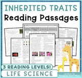 Inherited Traits: Non-Fiction Reading Passages & Questions