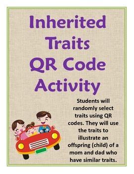 Inherited Traits QR Code Activity
