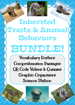 Inherited Traits and Animal Behaviors BUNDLE