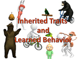 Inherited Traits and Learned Behavior Animated PowerPoint