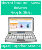 Inherited Traits and Learned Behavior Google Classroom Dis