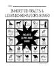 Inherited Traits and Learned Behaviors Bingo
