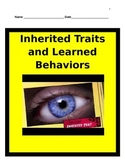 Inherited Traits and Learned Behaviors Study Guide - 5th Science