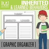 Inherited Traits and Learned Behaviors T-Chart Graphic Organizer