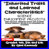 Inherited Traits Projects and Vocabulary Handout