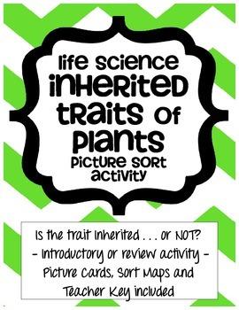 inherited traits of plants life science by heather van houten tpt. Black Bedroom Furniture Sets. Home Design Ideas