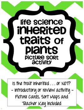 Inherited Traits of Plants - Life Science