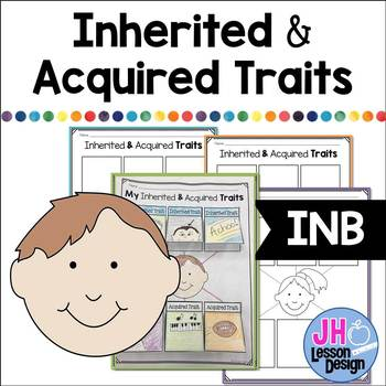 Heredity: Inherited and Acquired Traits: Interactive Notebook