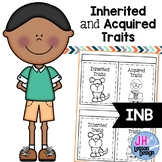 Inherited and Acquired Traits: Interactive Notebook Activity