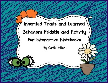 Inherited and Learned Foldable and Activity for Interactive Notebooks