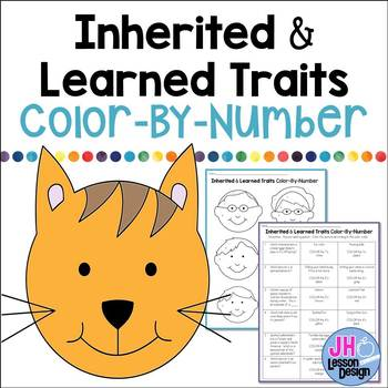 Inherited and Learned Traits Color-By-Number