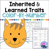 Heredity: Inherited and Learned Traits Color-By-Number