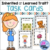 Heredity: Inherited and Learned Traits Task Cards