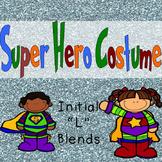 Initial Consonant Blend Super Hero Costume
