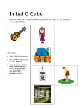 Inital and Final G Cubes