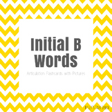 Initial B Words