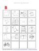 Initial / Beginning Letter Sounds for Picture Sorts -Phonetic Awareness