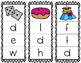 Initial/Beginning Sound Clip Cards: Dd