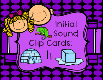 Initial/Beginning Sound Clip Cards: Ii