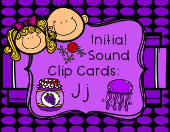 Initial/Beginning Sound Clip Cards: Jj