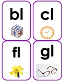 Initial Blend Flash Cards