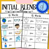 Initial Blend GL Worksheets