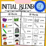 Initial Blend GR Worksheets