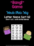 Initial Blend Game (WTW Letter Name Sort 42)