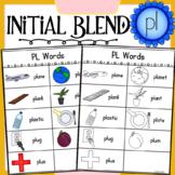 Initial Blend PL Worksheets
