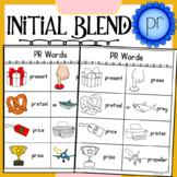 Initial Blend PR Worksheets